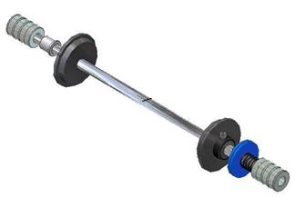 supply roll shaft